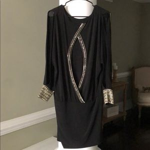 MODA International Black Cocktail Dress